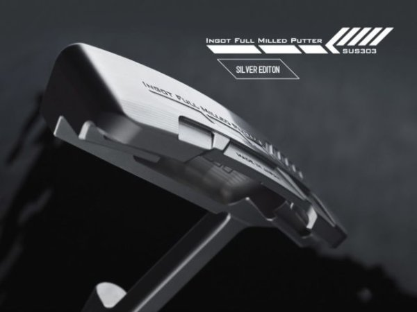 画像1: 【限定商品】Design Tuning|INGOT FULL MILLED PUTTER [SILVER EDITION] (1)